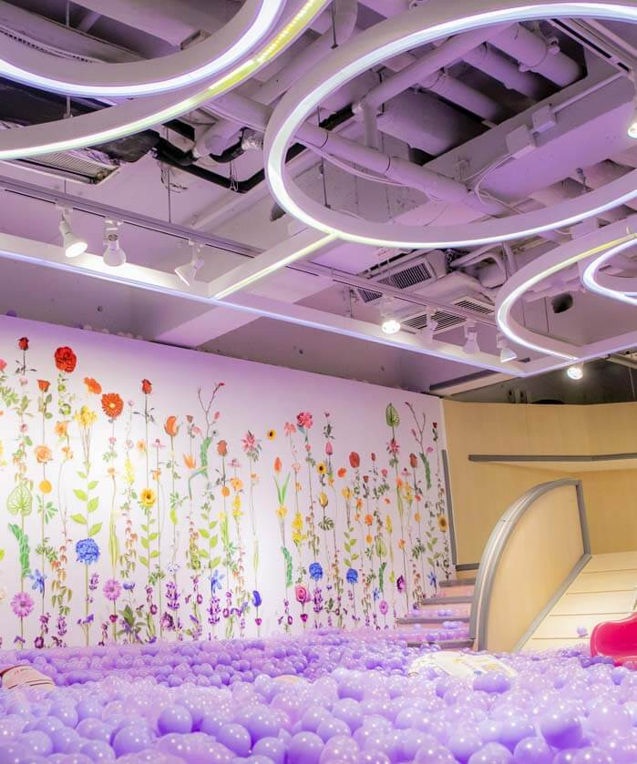 Play Room at Mr. Tree Restaurant in Hong Kong