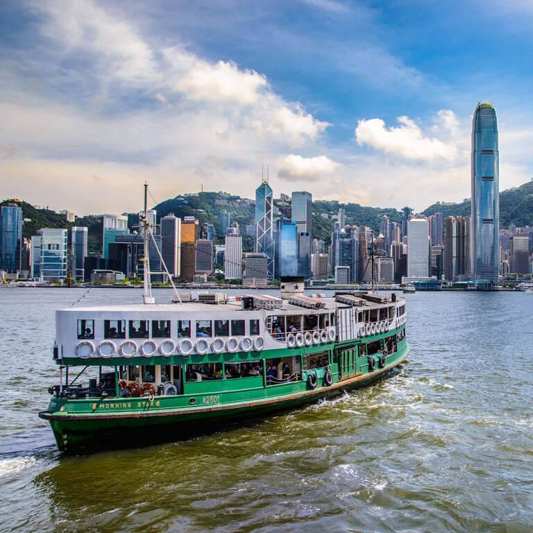 香港渡轮接送