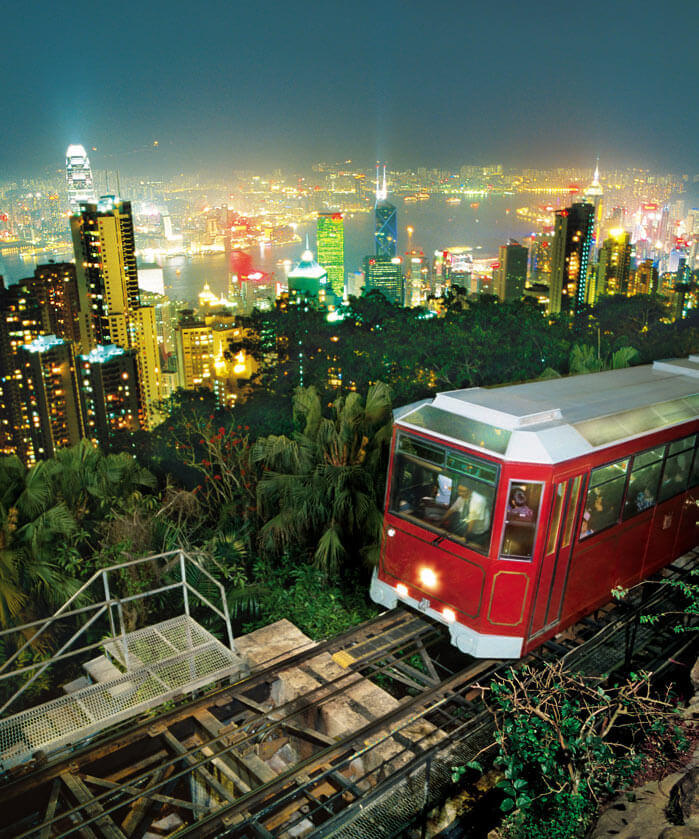 Peak Tram Tours in Mongkok Hong Kong