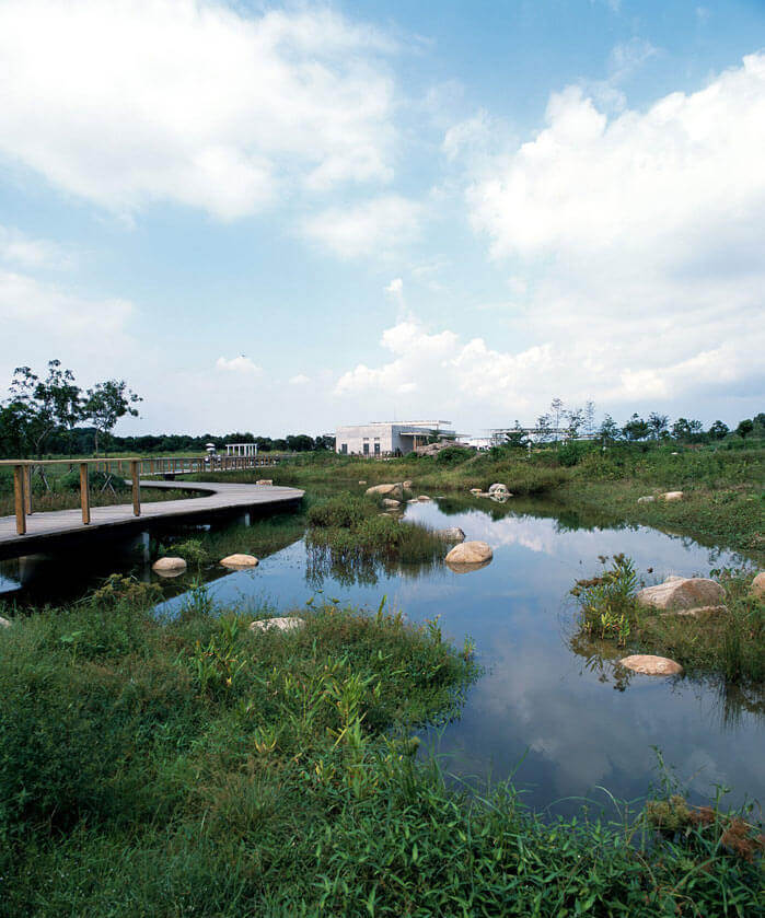 Hong Kong Wetland Park in Tin Shui Wai, Hong Kong